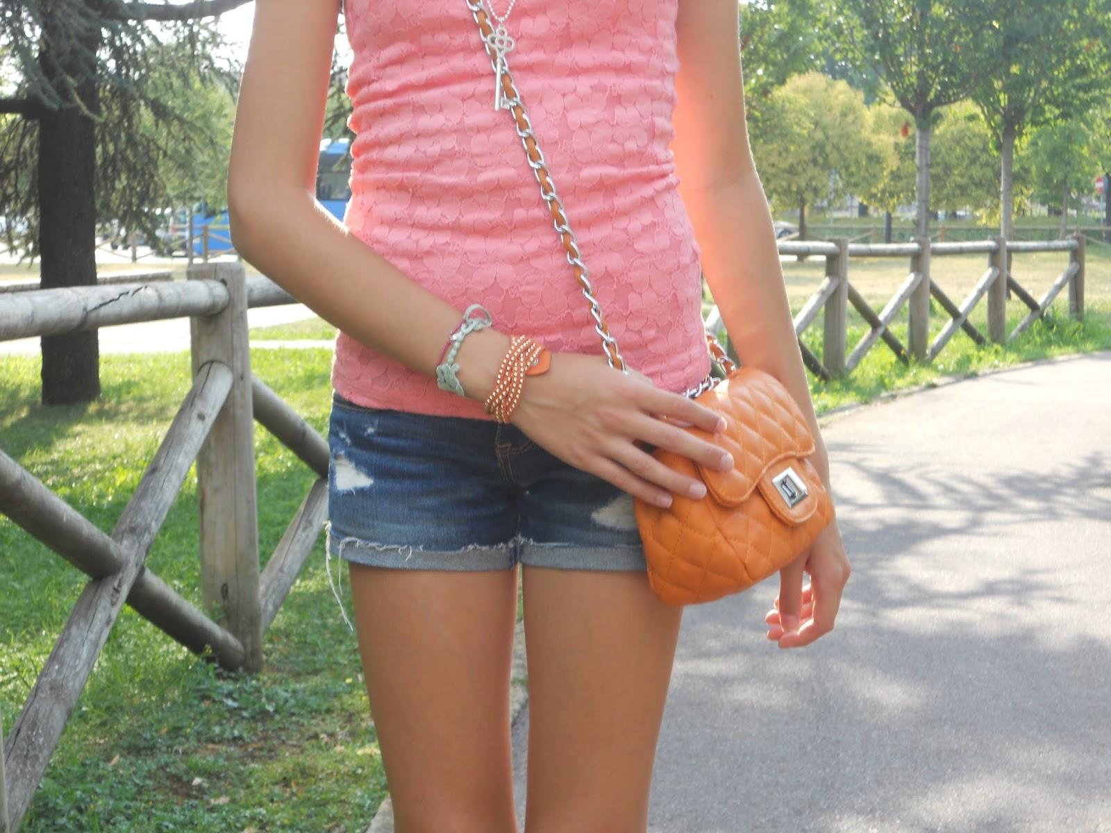 Lucrezia 39 s fashion orange bag - Piscina comunale treviglio ...