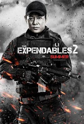 Jet Li The Expendables 2 2012