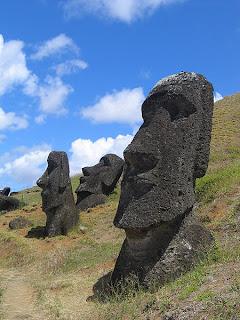 Curiosidades Cabezas de la Isla de Pascua