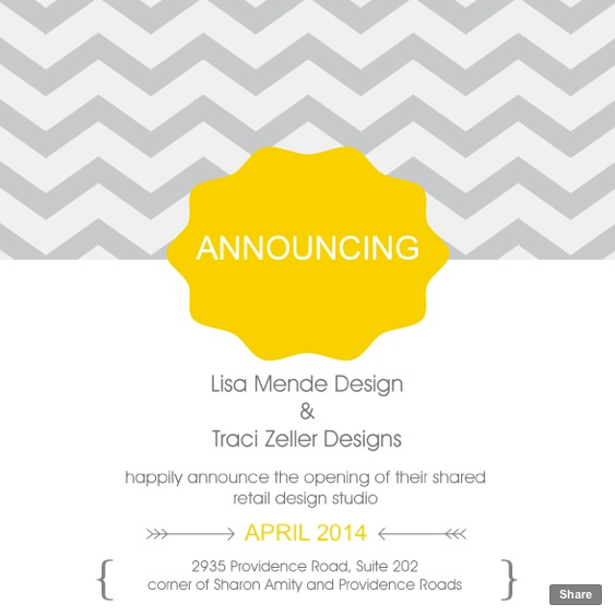 Lisa Mende Design: THE SECRET WE'VE BEEN WAITING TO SHARE!