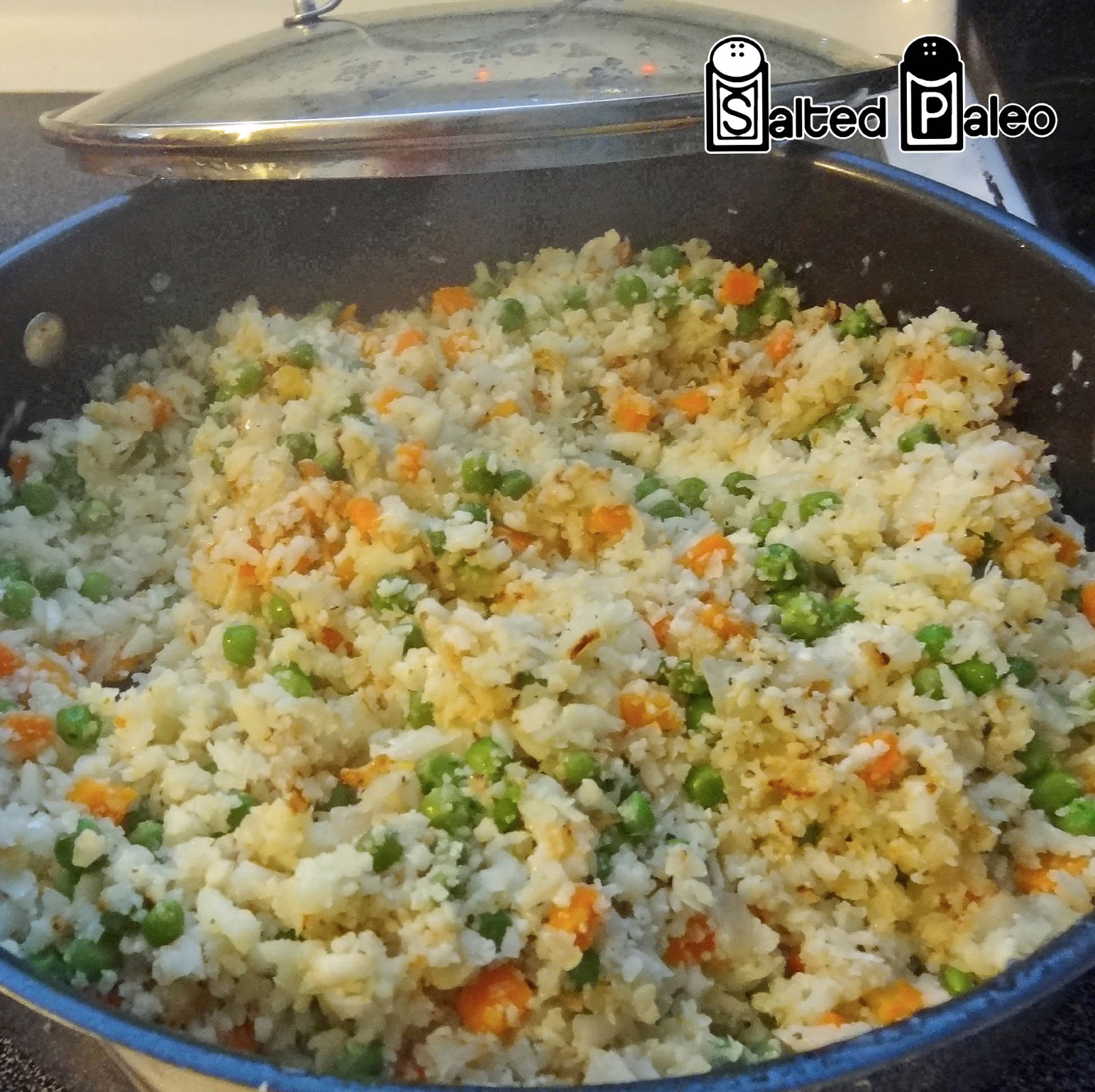 rice stir fried cauliflower cauliflower rice korean fried cauliflower ...