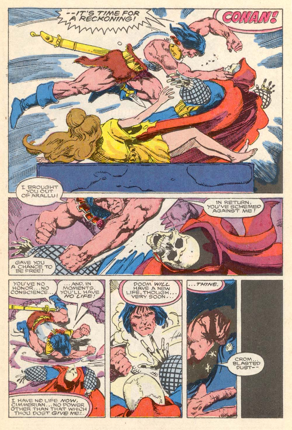 Conan the Barbarian (1970) Issue #203 #215 - English 16