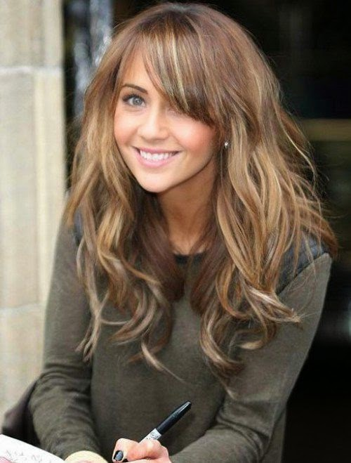Awesome 10 Long Hairstyles With Bangs 2015