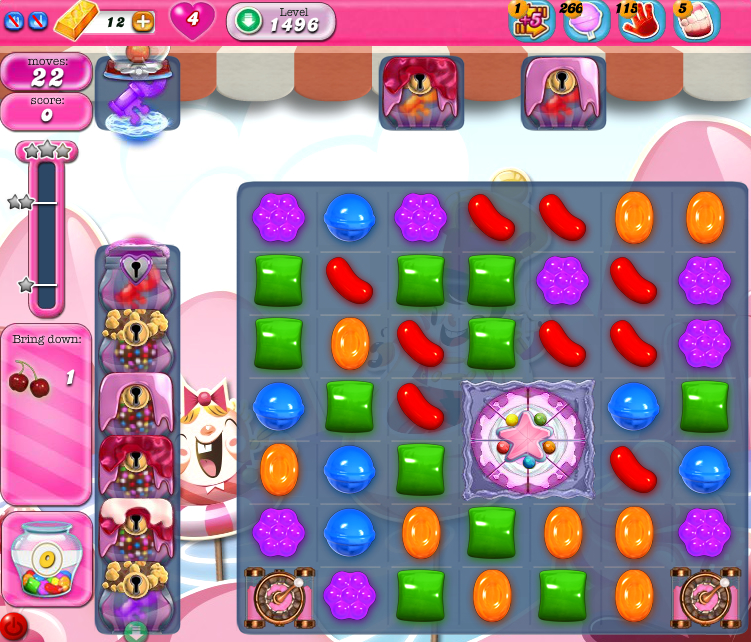 Candy Crush Saga 1496