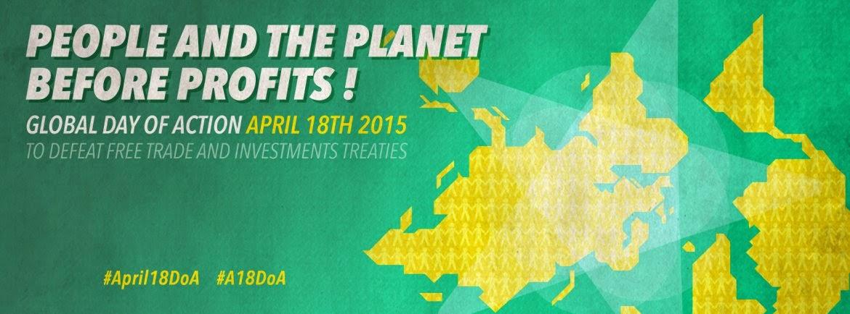 Παγκόσμια Ημέρα Δράσης/ People and Planet Before Profits