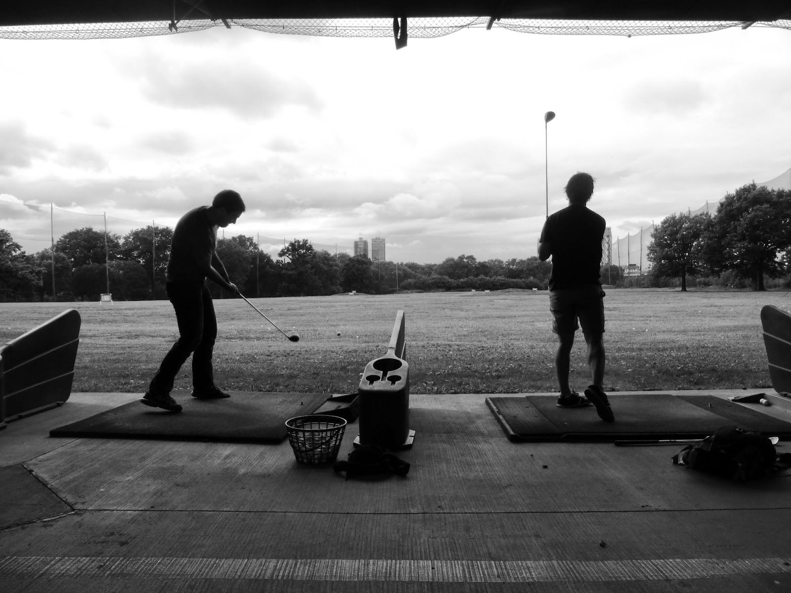 Driving Range at Randall's Island Golf Center