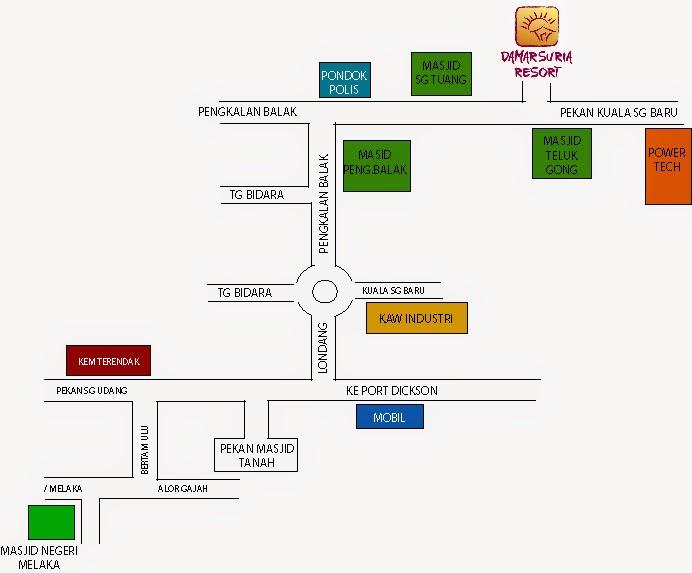 Resort Damar Suria Melaka Damar Suria Resort Ada
