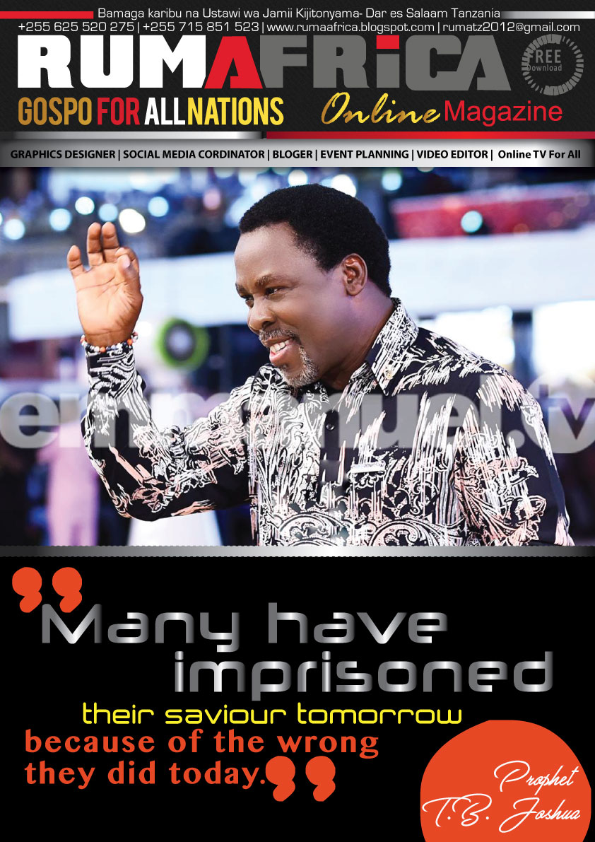 PROPHET TB JOSHUA: YOUR FAITH WILL NOT FAIL