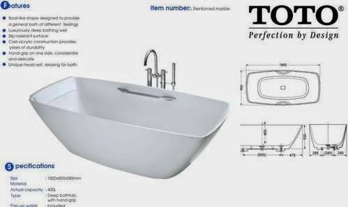 bathtub merek toot wajib anda miliki di kamar mandi minimalis modern