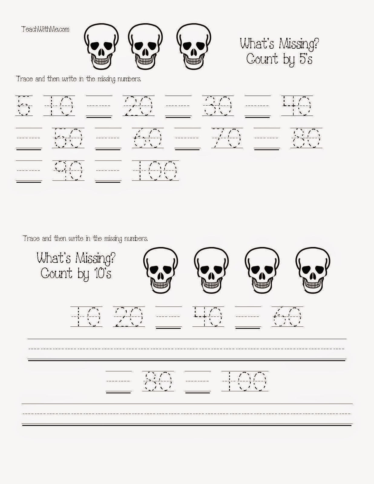 classroom freebies common core skeleton math packet
