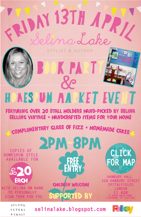 Homespun market event by Selina Lake
