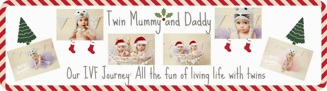 Twin Mummy and Daddy. Our IVF Journey: All the fun of living life with twins