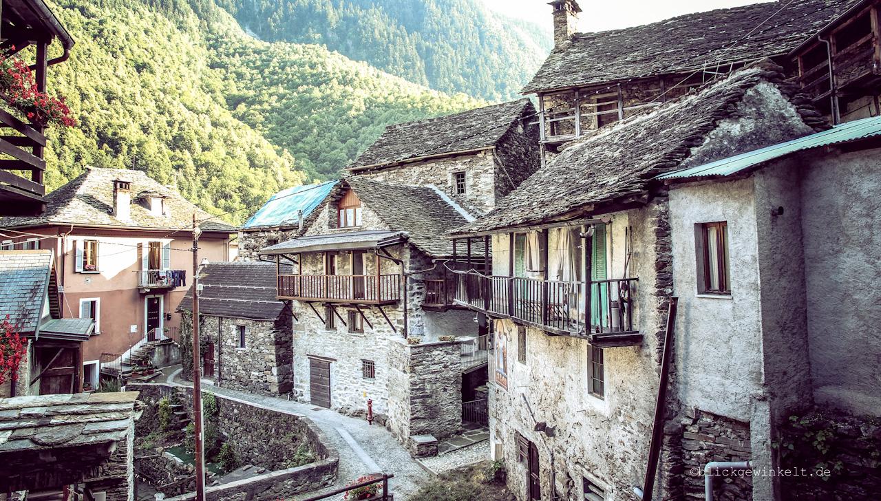 Villadossola in Italien, Piemonte