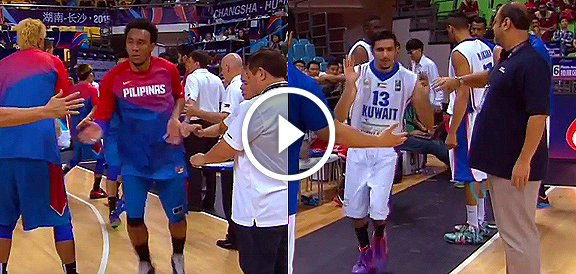 HIGHLIGHTS: Gilas Pilipinas vs. Kuwait (VIDEO) FIBA Asia 2015 - Day 3