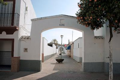 Guadalcacín: calle 'Luna' en la actualidad
