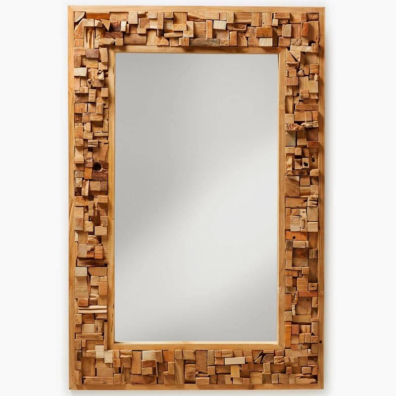 Decora a tu estilo - Marcos rusticos para espejos ...