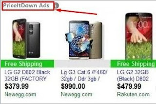 PriceItDown ads