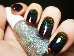 Arco Íris de glitter!