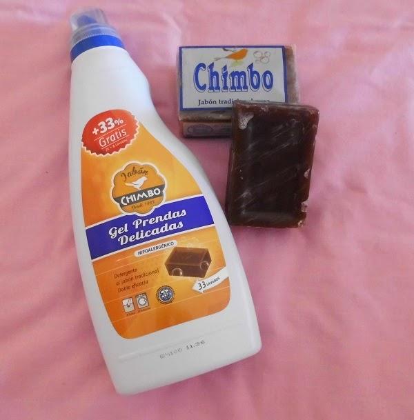 gel prendas delicadas CHIMBO