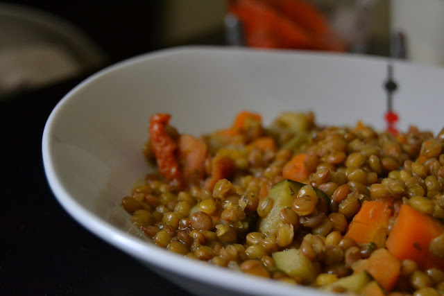 Lentejas con verduras orientales v for Cocinar lentejas con verduras