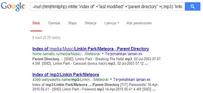 Cara Mencari File dari Data Publik Melalui Google Search