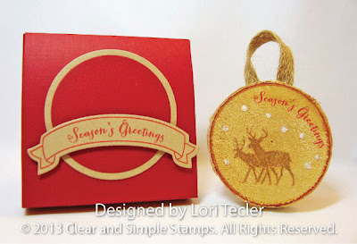Birch Ornament and Box-designed by Lori Tecler-Inking Aloud-stamps and dies from Clear and Simple Stamps