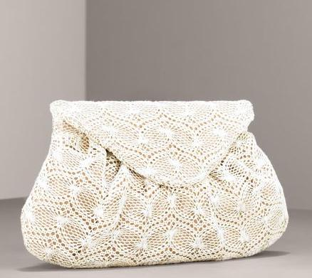 16 - crochet purse (no designer, but with pattern); 17 - 50s Rosenfeld ...