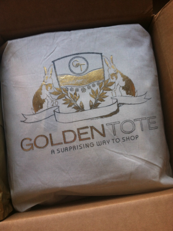 Golden Tote - November 2012 Review - Women's Monthly Clothing Subscription Boxes