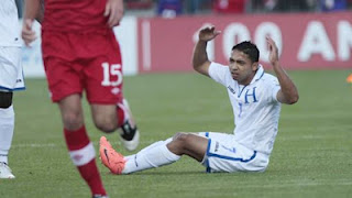 Emilio Izaguirre Honduras Seleccion celtic