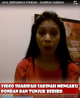 video keek sharifah sakinah