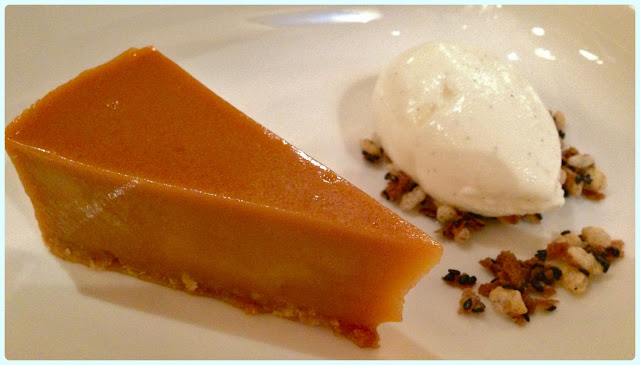 Little Social, London - Brown sugar tart