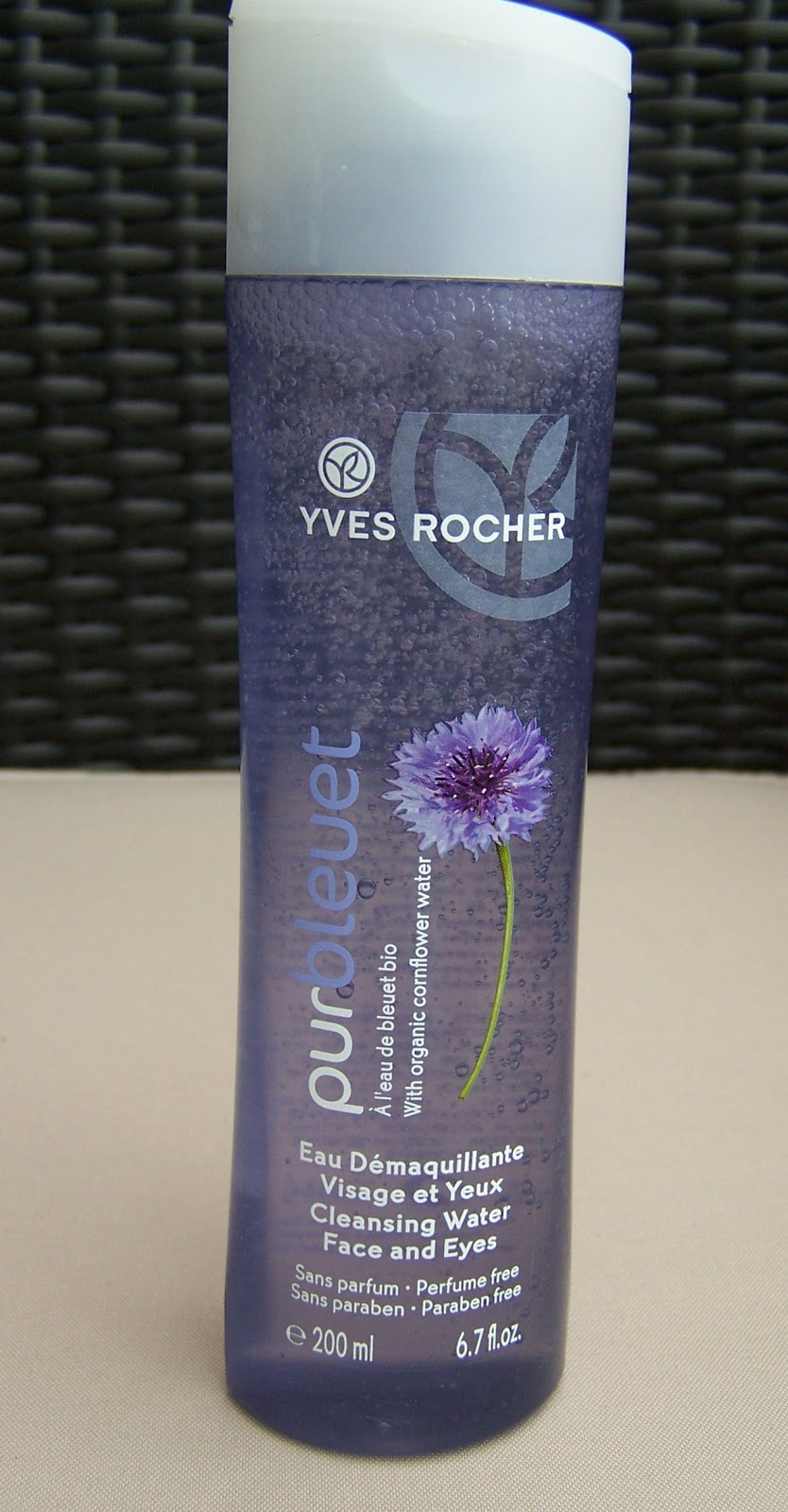 freckles flaws yves rocher cleansing water and makeup remover review