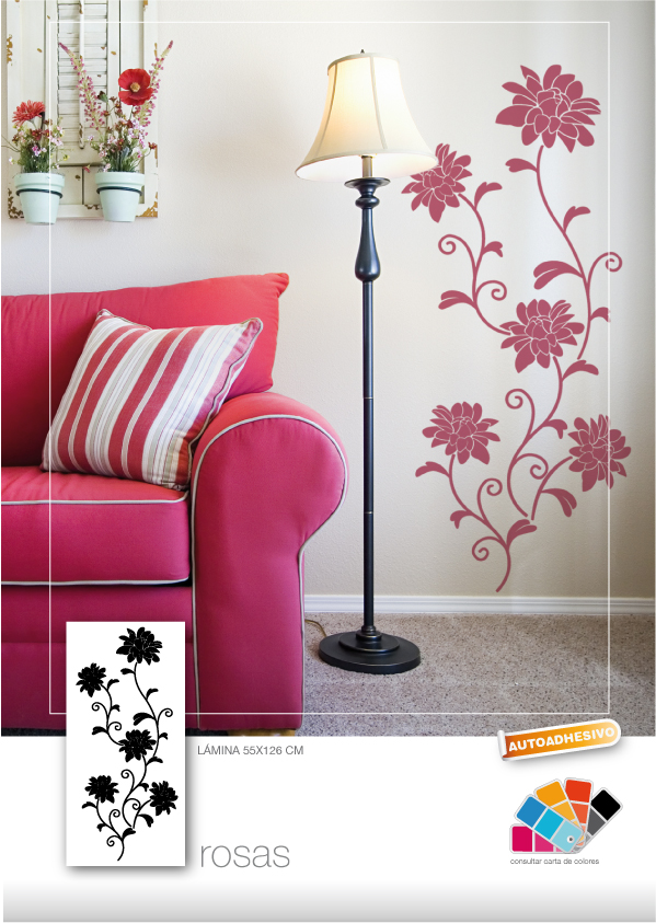 P go deco consejos para decorar con vinilos decorativos for Consejos para decorar