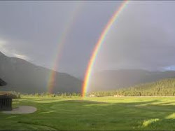 A Beautiful Double Rainbow that Hashem created.
