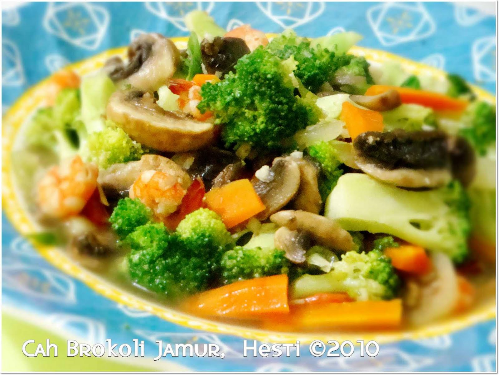 Resep Cah Brokoli Udang Resep Membuat Cah Brokoli Saus