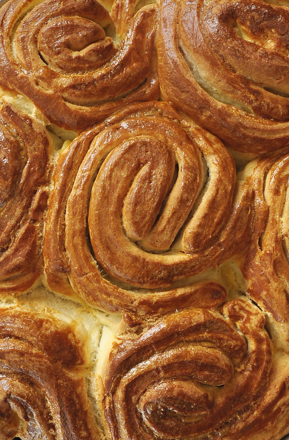 Hand kneaded bread