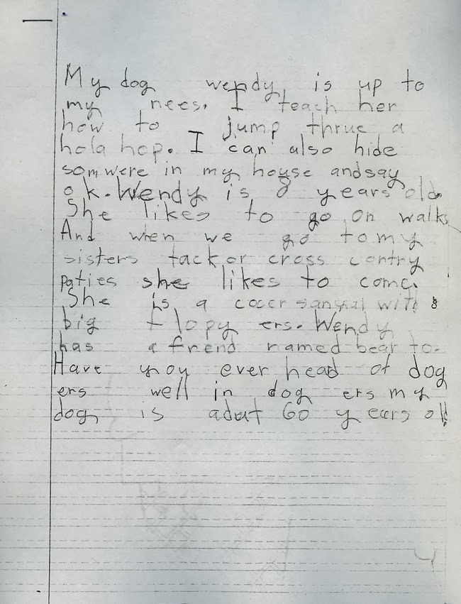 2nd Grade Handwriting