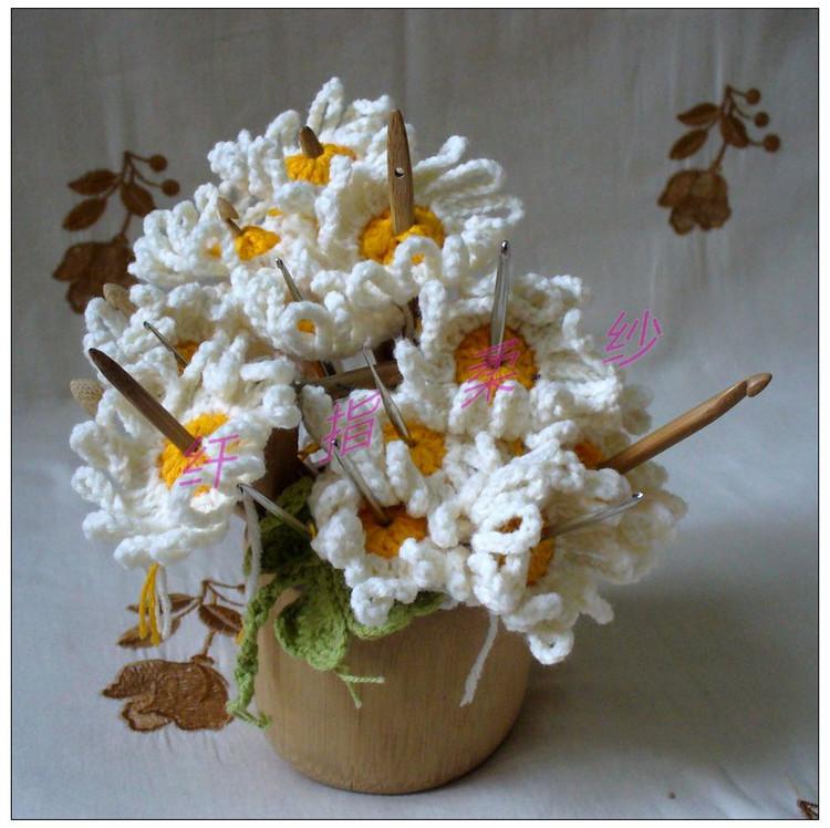 Organizador De Baño En Crochet:Flores De Crochet Patron ES