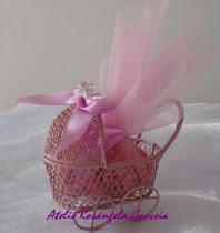 Lembrancinha para maternidade e chá de bebê