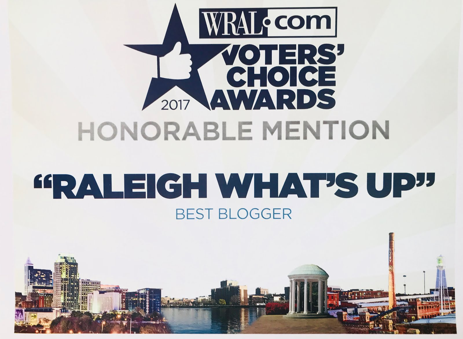 WRAL Voter's Choice Awards 2018