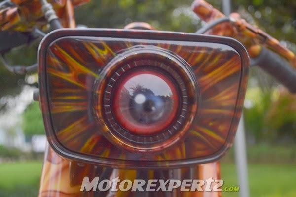 Modifikasi Yamaha RX-King 1995, Motor Kontes Serem Abis!!