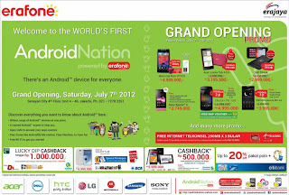 Android Nation Grand Opening Promo