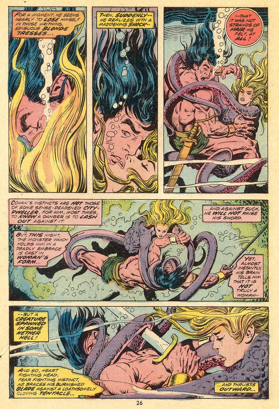 Conan the Barbarian (1970) Issue #32 #44 - English 16