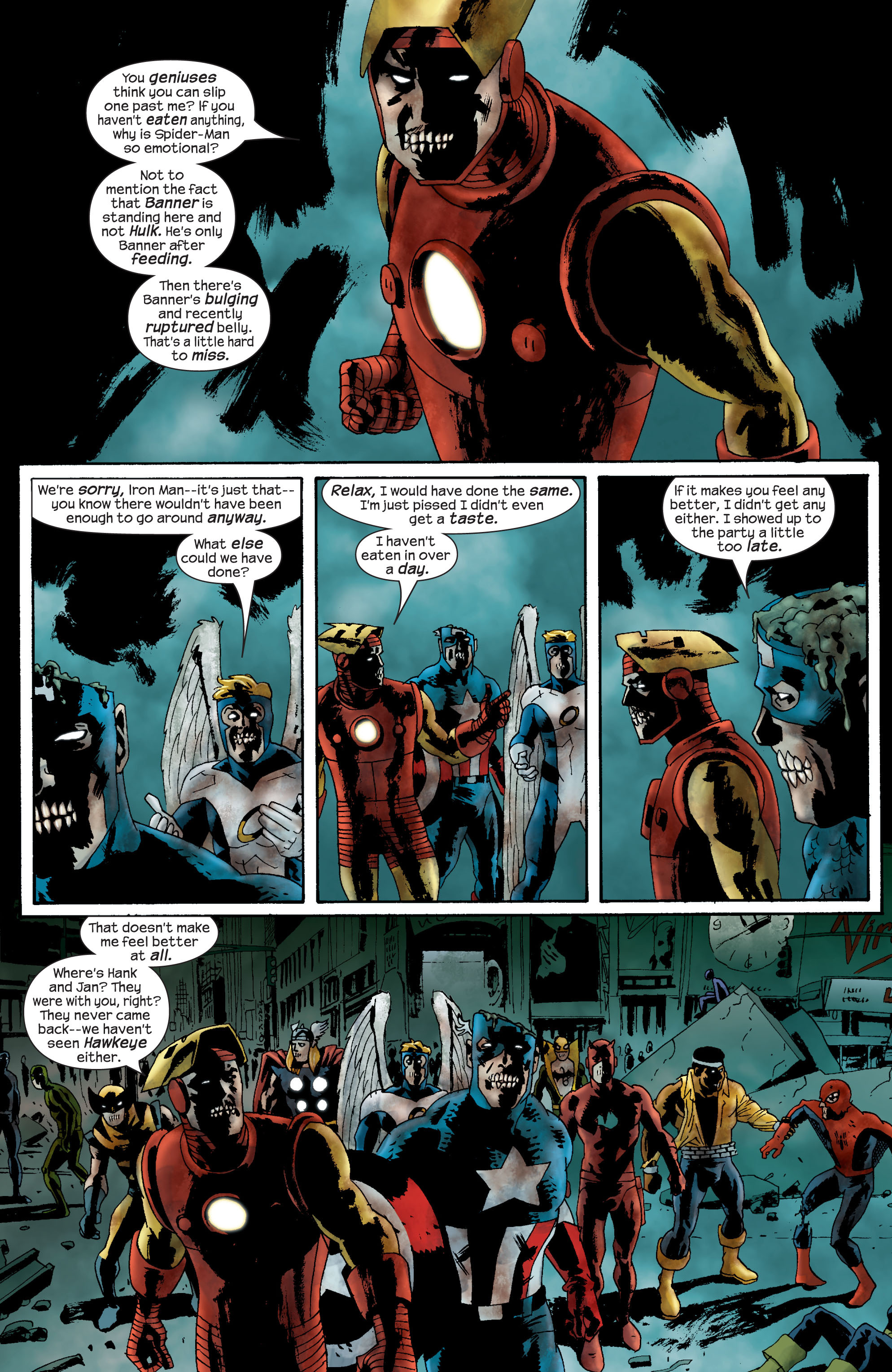 Marvel Zombies (2006) Issue #2 #2 - English 15