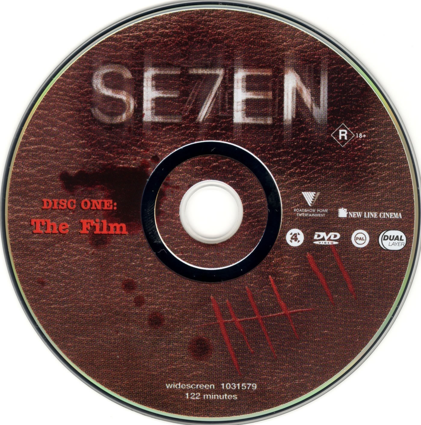 Se7en-Dvd-Label