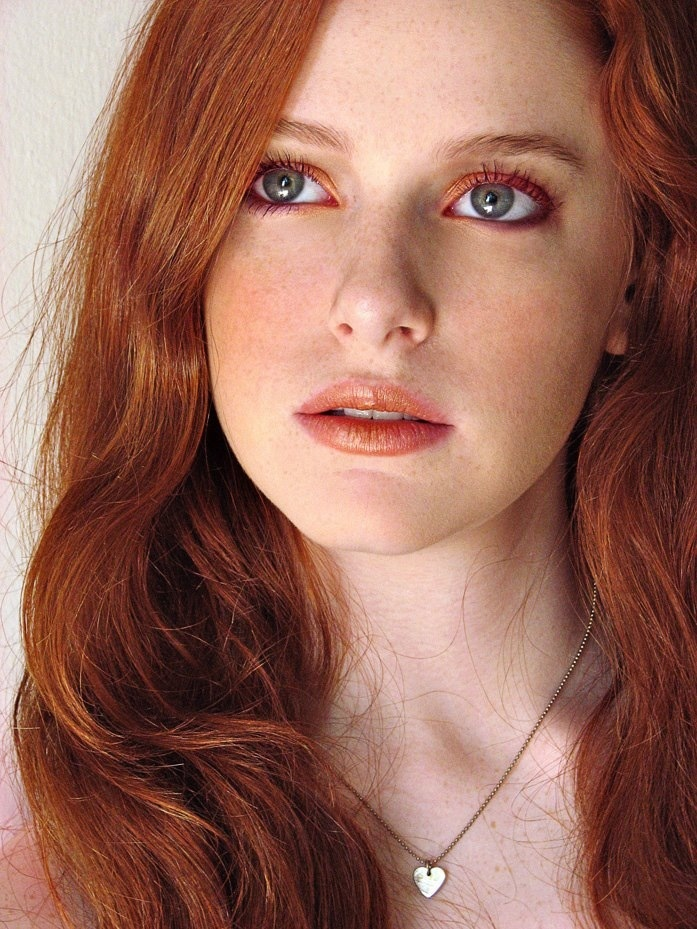 Best looking redhead in world