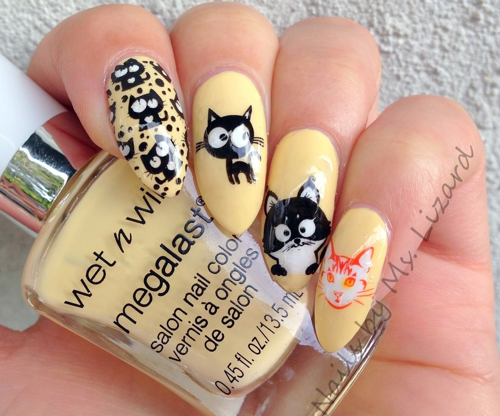 Nails by Ms. Lizard: Born Pretty Store: Cat Deer Sheep Nail Art ...