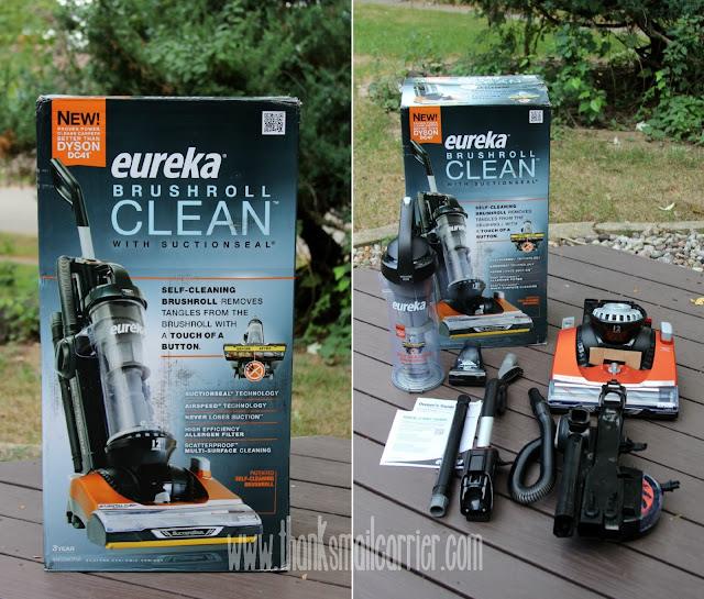 Eureka Brushroll Clean vacuum