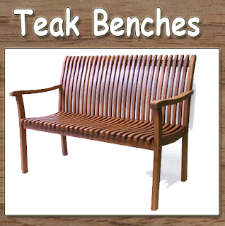 Teak Benches, Teak Furniture, Teak outdoor furniture, Teak Outdoor Benches,