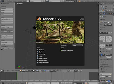 Instal Blender 2.65a Pada Ubuntu/Linux Mint